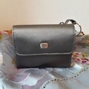 Liz Claiborne Charcoal Gray Wallet NWOT